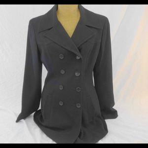bebe Long Blazer Coat